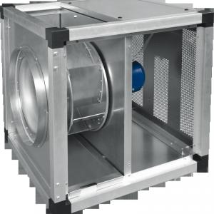 Высокотемпературные канальные вентиляторы в изолированном корпусе KUB T120