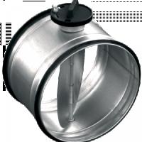Воздушные клапаны для круглых воздуховодов с ручной регулировкой SK
