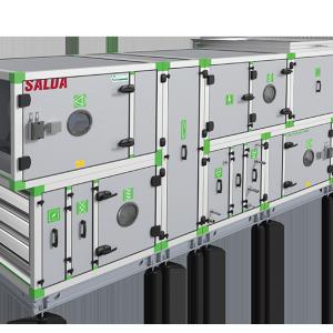 Каркасно-панельные установки и центральные кондиционеры AmberAir